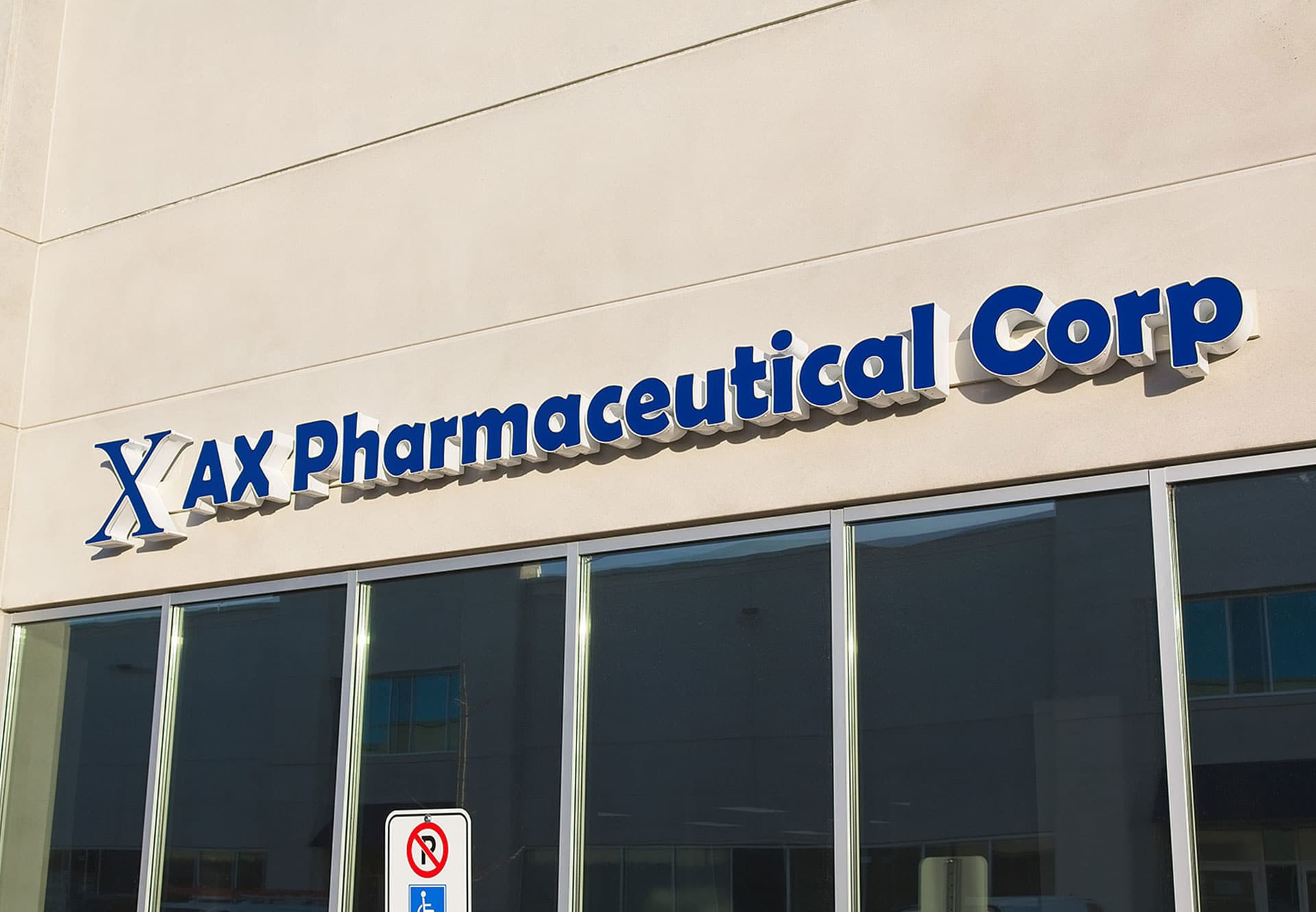 AX Pharmaceutical Sign